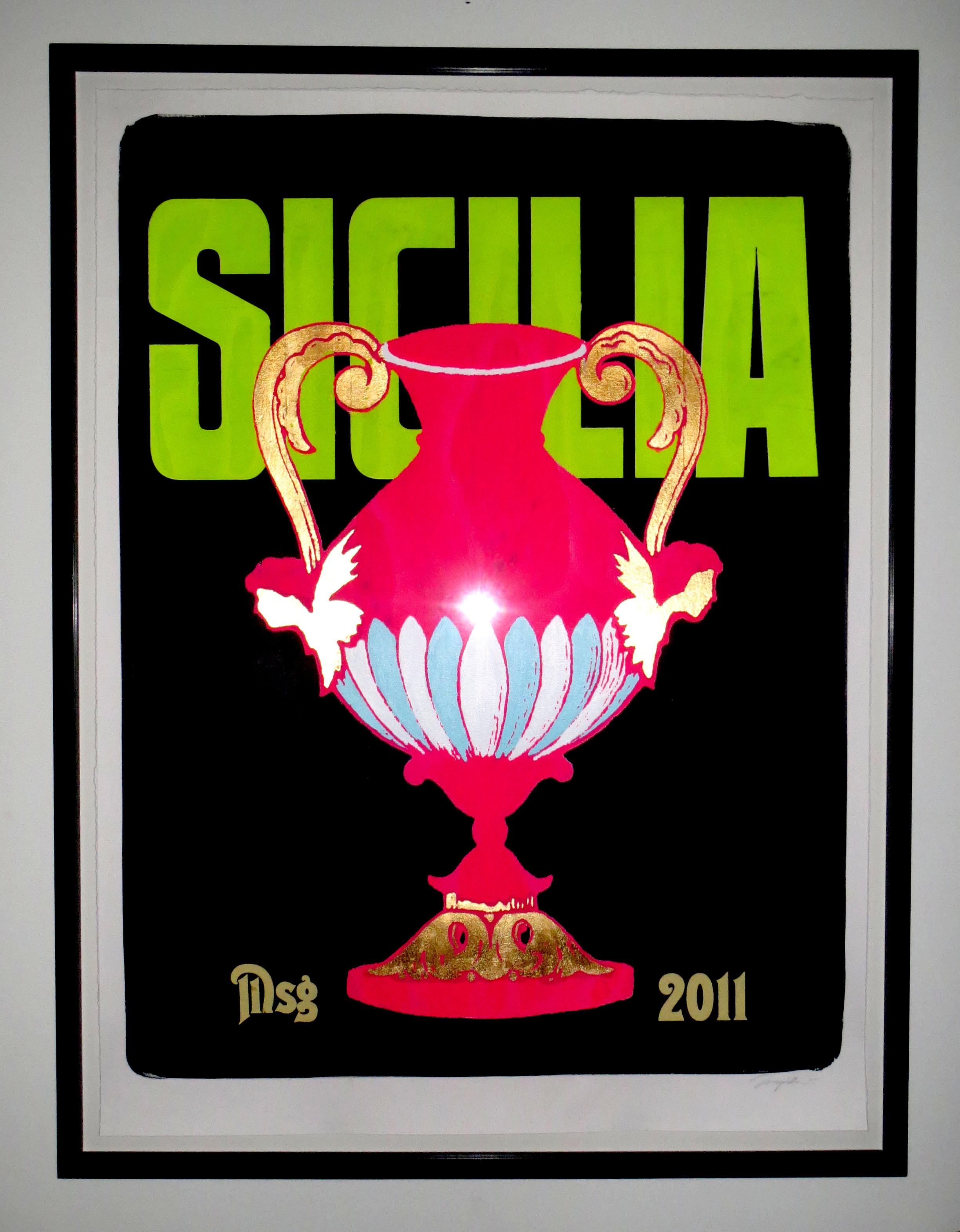 Sicilia framed